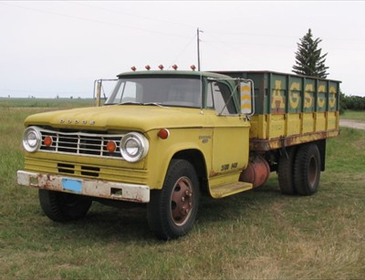 1967 Dodge Truck AGSCO 3/4 View from front